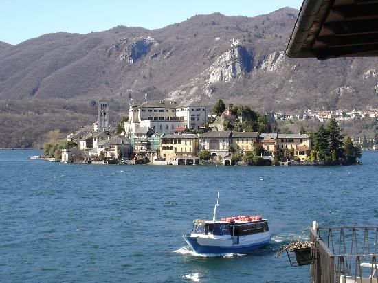 Hotel Leon d'Oro d'Orta : Blick aus dem Hotelzimmer