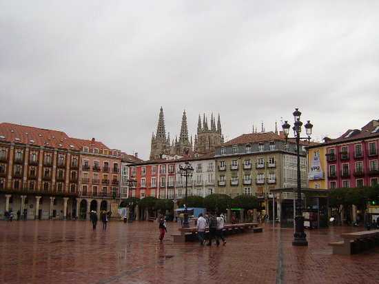 Бургос, Испания: Burgos, Plaza Mayor