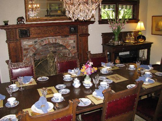 Markham House: Sala colazione