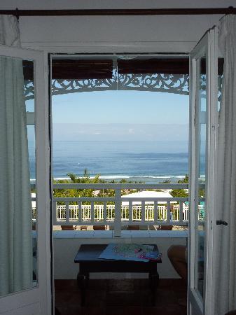 Blue Margouillat Seaview Hotel: Balcon chambre