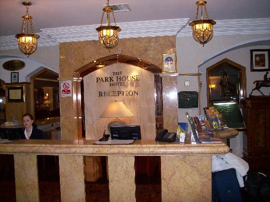 Park House Hotel: Reception