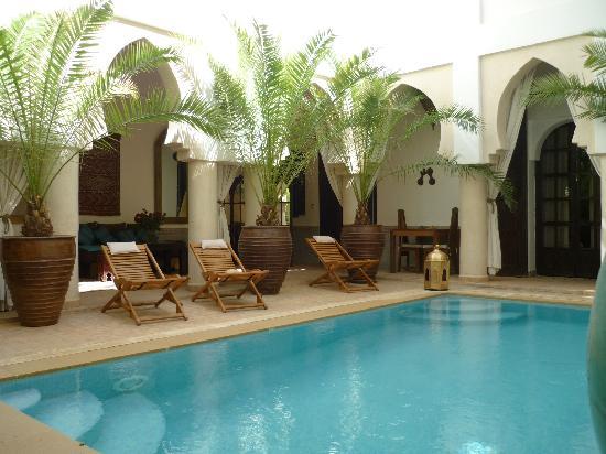 Riad Shemsi Marrakech swimming pool