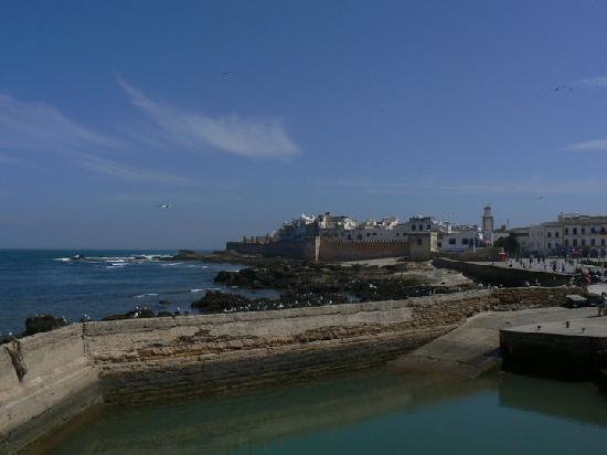 Riad l'Ayel d'Essaouira : Vue de la ville, près du port