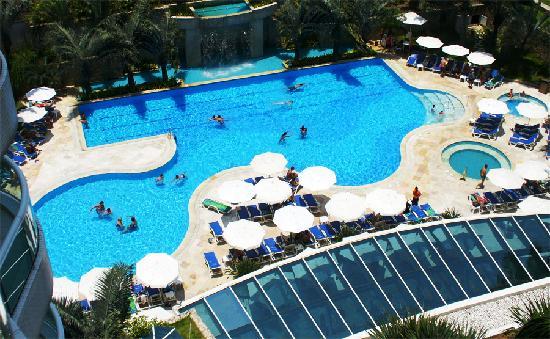 Sheraton Barra Rio de Janeiro Hotel : The swimming pool