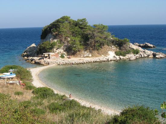 Sámos, Griechenland: Our favorite beach -Kokkari