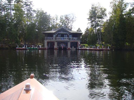 The Point: The boathouse