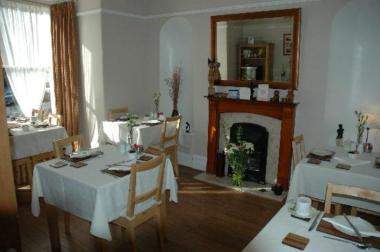 Chiverton Guest House B&B: The breakfast room