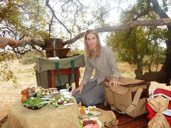 Garonga Safari Camp: Tree top picnic