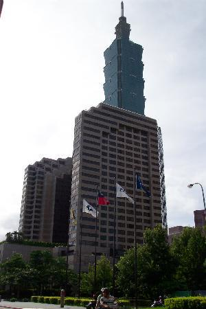 Grand Hyatt Taipei and Taipei 101 Building