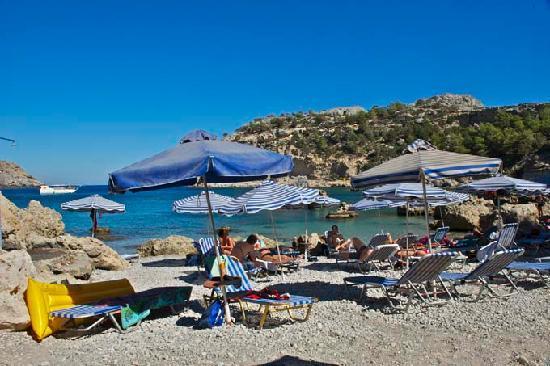 Rhodes, Greece: Antony Quinn Bay