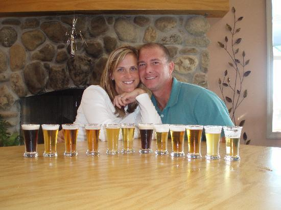 Monticello Appellation Wine Tours : Blue Mountain Brewery