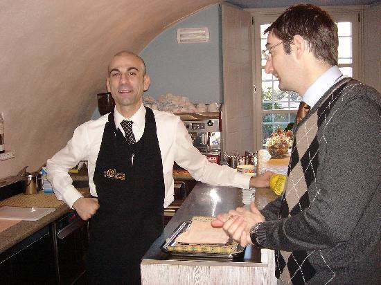 Bard, Italia: Gianluca & Giovanni