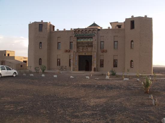 Le Chevalier Solitaire: la facciata dell'hotel