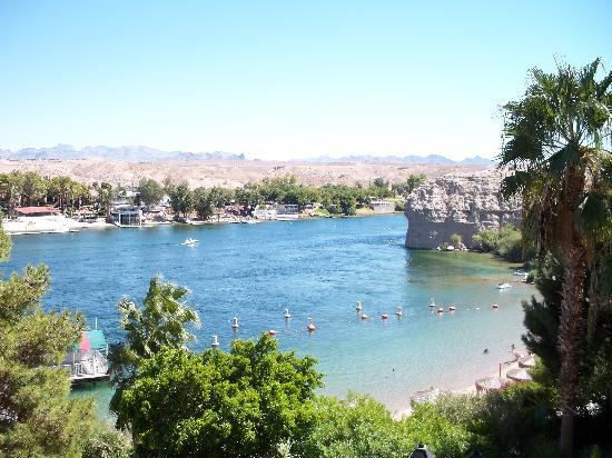 Harrah's Laughlin: View from Harrah's of Colorado River