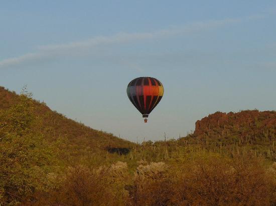 Fleur de Tucson Hot Air Balloon Rides: Tucson Mountains