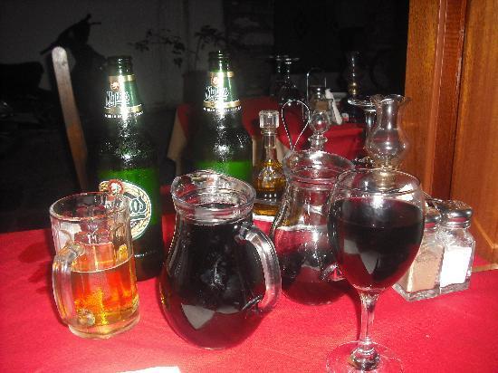 Hotel Costas Mary: Best red wine...