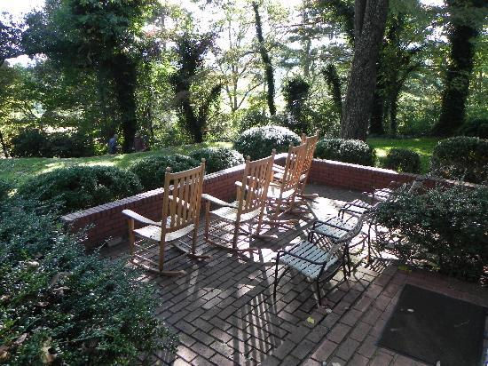 Dillard House: Porch
