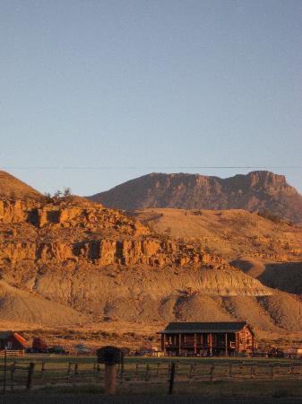 Yellowstone Valley Inn: morning  view