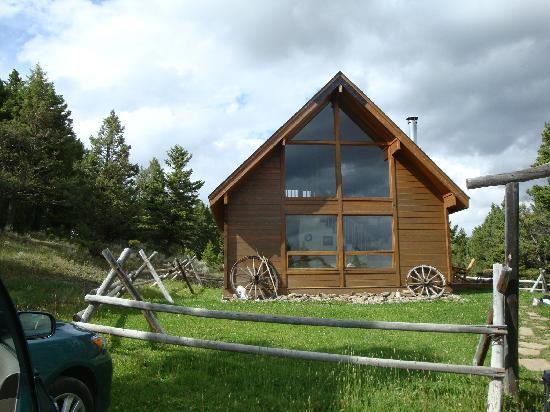 Bonanza Creek Guest Ranch: cowboy cabin