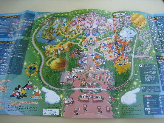 Hong Kong Disneyland Map disney HK map   Picture of Hong Kong Disneyland, Hong Kong  Hong Kong Disneyland Map