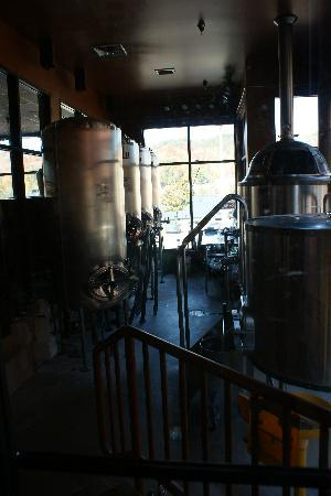 The Library Restaurant and Brew Pub: Brewery
