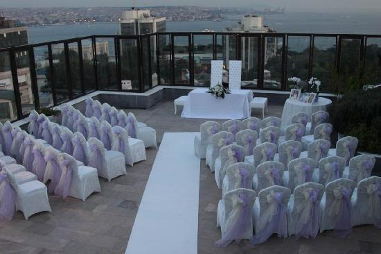 هيلتون بارك إس إيه إسطنبول: Wedding setup