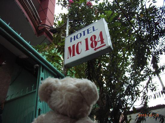 Madam Cuc 64 : ホテルの入口です。
