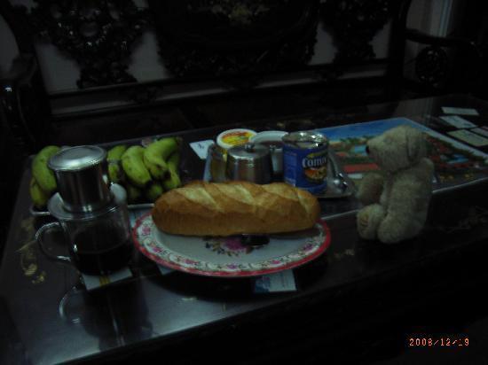 Madam Cuc 64: 朝食サービスはこんな感じでした。