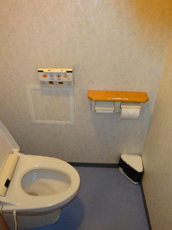 Tominoko Hotel: Toilet