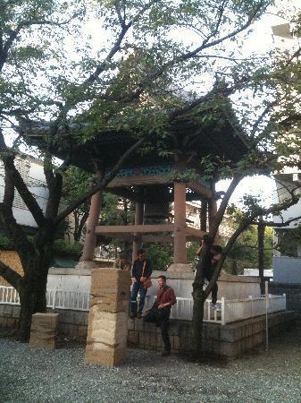 Zenkoji Temple: 善光寺別院のお堂
