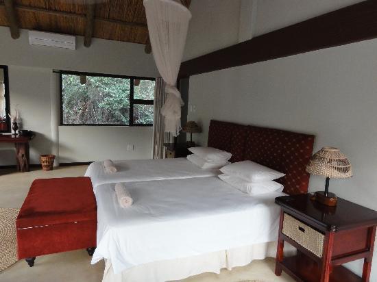 Leopard Walk Lodge: Schlafzimmer