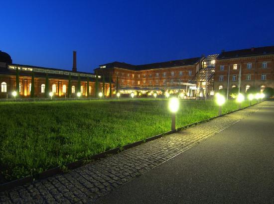 Eingang zum nestor Hotel Ludwigsburg