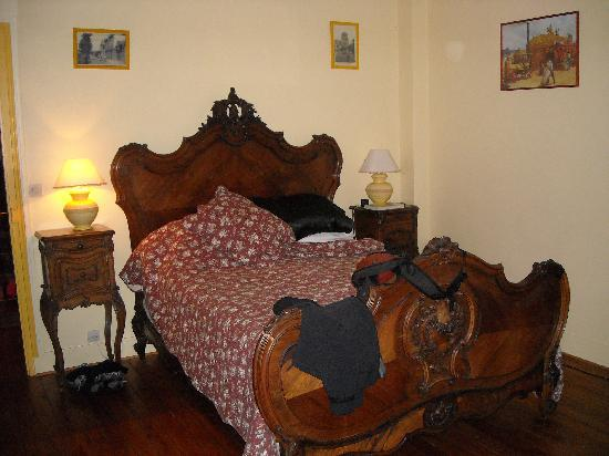 Moulin des Chennevieres: The bedroom