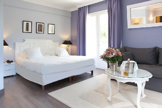 Hotel Le Vallon de Valrugues & Spa: Suite Deluxe Terrasse