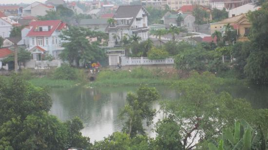 Vina Hotel Hue: view from our room