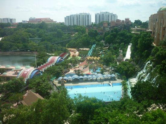 Sunway Lagoon : Park vista