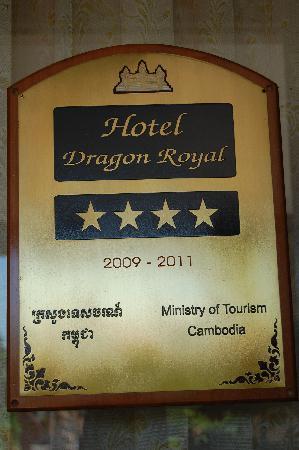 Dragon Royal Hotel: 4 star