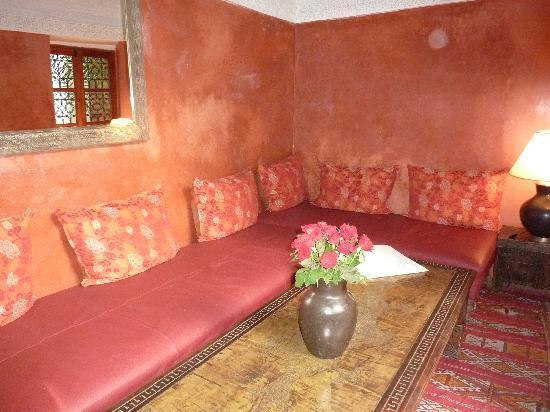 Riad l'Orangeraie: lounge