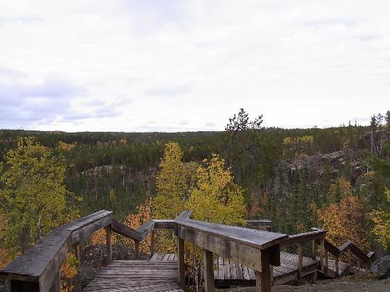 Yellowknife, Kanada: Cameron River Falls Trail