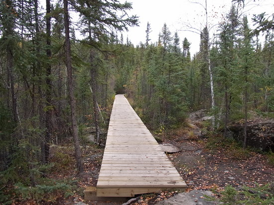 Yellowknife, Canada : Cameron River Falls Trail