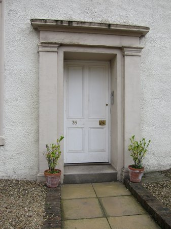 The Town House: Exterior Entrance to Annex