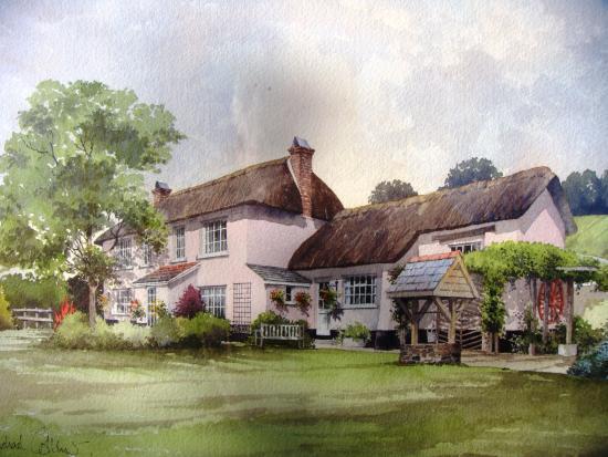 Rockhaye Cottage B&B: Painting of Rockhaye