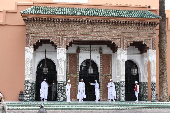 La Mamounia Marrakech : entrée