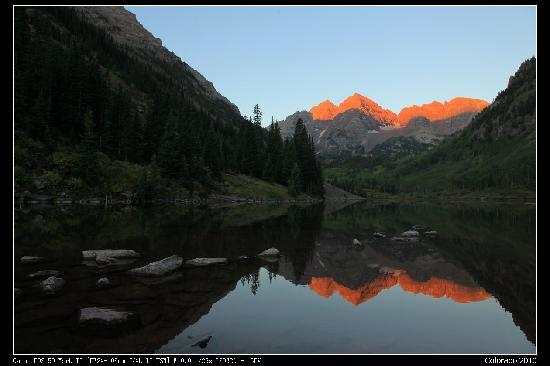 Maroon Bells-Snowmass Wilderness Area : Maroon Bells