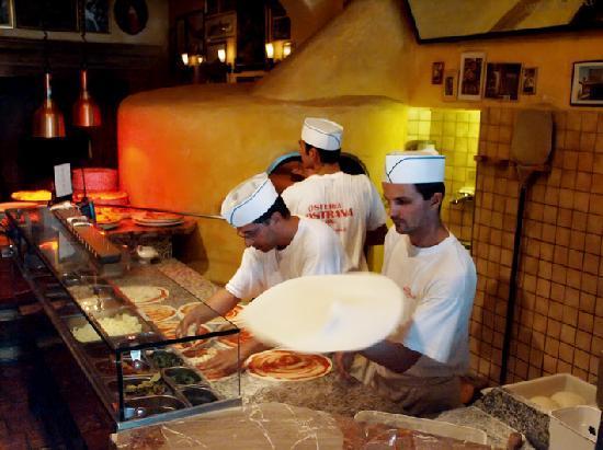 Osteria Nostrana: Pizzeria