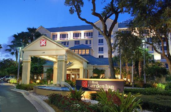 Great Hilton Garden Inn Ft. Lauderdale Airport Cruise Port: View Of Exterior Of  Hotel Nice Look