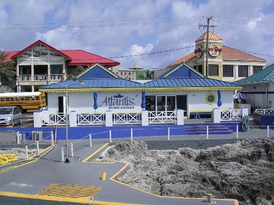 Atlantis Submarines : Building for Atlantis Submarine - Caymans