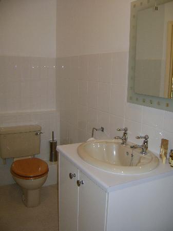 "Findon Manor Hotel: bathroom of the room ""Aldaniti"""