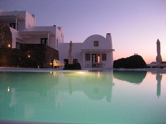 Aenaon Villas: Villa Marily at sunrise