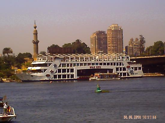 Aqua Blue Sharm Excursions - Day Tours: Views of Cairo from our boat